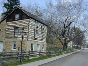 Historic houses on Shake Rag Street (Credit: Joy Gieseke)