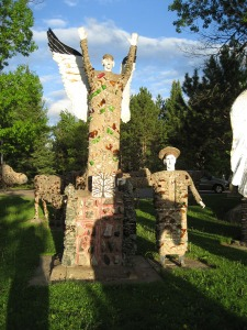 Fred Smith's work at the Wisconsin Concrete Park in Price County