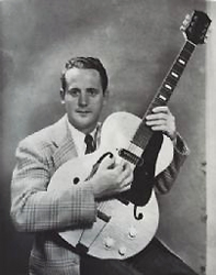 Les Paul. Photo: Wisconsin Historical Society.