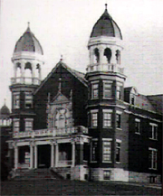 Administration Building, Wisconsin Home of the Feeble-Minded, 1897. Photo: Northern Wisconsin Center.