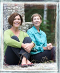 Book authors Barbara Manger and Janine Smith