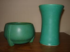 Two greenpots