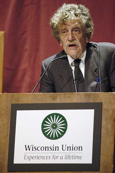 kurt vonnegut sarcasm and blac essay The role of technology in kurt vonnegut's writing essay, research paper outlinethesis: technology is the villain in kurt vonneguts works because of his hatred of corporate insensitivity and his awareness of the destructive social impact of.