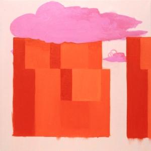 """""""Self"""" 26 x 26 Oil on Linen 2011"""