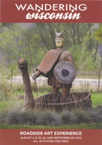 Take a liking to this Viking at Grandview, just west of Hollandale in Iowa County